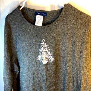 Size XL Karen Scott Christmas sweater